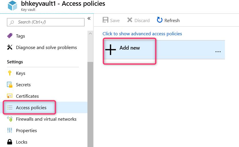 Retrieving Azure Key Vault Secret using System MSI in an